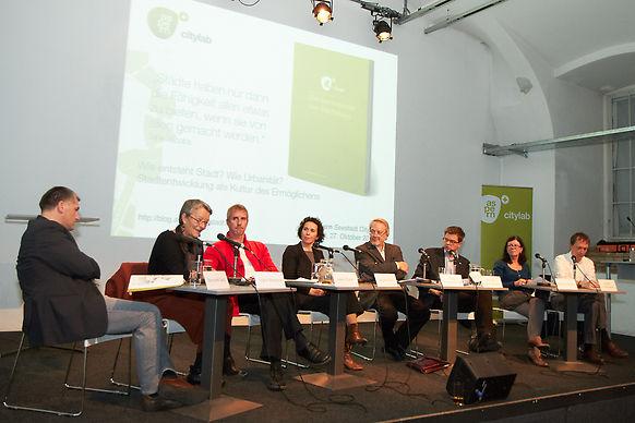 """aspern Seestadt Citylab """"Wie entsteht Stadt? Wie Urbanität?"""" (27.10.2011)"""