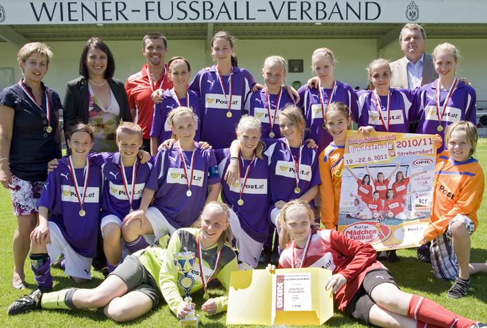 Postliga MŠdchenfu§ball, Landesfinale Wien, WFV-Anlage Hirschstetten, 30. 5. 2011;Photo: Bernhard Noll, Tel.: +43 676 54 99 184