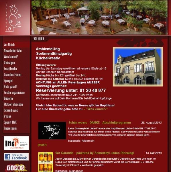 hopfhaus-webscreenshot