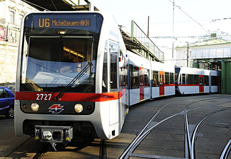 Neue Züge für die Linie U6